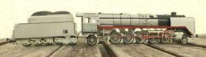 Liliput 4502 H0 Locomotive à Vapeur Br 45 001 Photo Gris DRG Epoque 2 Bon À Très