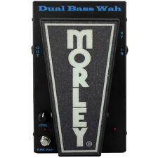 Morley PBA-2 Dual Bass Guitar Wah Funk Effects Pedal True Tone Bypass Two Modes