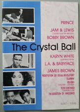 "PRINCE / RELATED ARTISTS ""CRYSTAL BALL""  UK FANZINE  MAGAZINE ISSUE 6  1989"