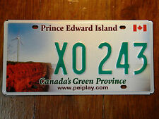 PRINCE EDWARD ISLAND licence plate plates NUMBER CANADIAN REGISTRATION
