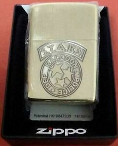 Zippo Resident Evil BIOHAZARD 20th Anniversary Limited S.T.A.R.S. Lighter Japan