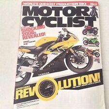 Motor Cyclist Magazine Yamaha YZF-R6 Kawasaki ZX November 2005 061417nonrh