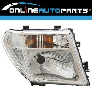RH Replacement HeadLight for Nissan Navara D40 2008- Right RHS Driver