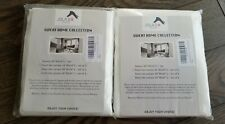 2 Sets Of Kitchen/bathroom Window Curtain Panels, 4 Count Total