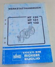 Officina Manuale VOLVO BM ingranaggi HT 130/131/132 STAND 02/1990