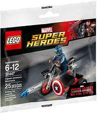 LEGO Marvel Super Heroes - 30447 Captain America's Motorcycle - Neu & OVP