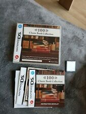 Nintendo ds 100 classic books Collection in new Condition