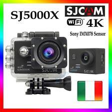 Sjcam Sj5000x Sport Camera elite 24fp 4K WiFi HD Subacquea 12MP Videocamera Nero