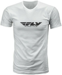 Fly Racing 2020 Corporate Tee Adult White T-Shirt All Sizes