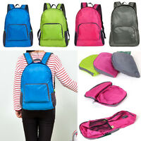 Boys Girls Kids Backpack Rucksack School College Travel Laptop Bags Foldable