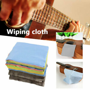 5-100pc Microfiber Wipe Cleaning Cloth Rag for Musical Instrument Guitar Glasses