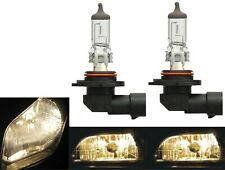 Halogen 9045 53W 3800K Stock Two Bulbs Fog Light Replacement Plug Play Lamp Fit
