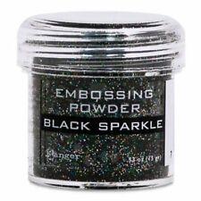 Ranger - Embossing Powder - Black Sparkle