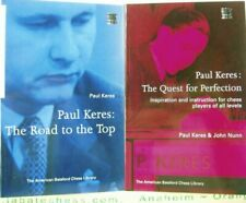 PAUL KERES:  THE ROAD TO THE TOP & QUEST FOR PERFECTION  2 Vol. + 3 FREE BOOKS