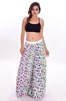 Indian 100% Cotton Women's Long Skirt Hippie Floral Print Multi Color Plus Size
