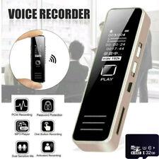8GB Mini Spy Digital Audio Voice Recorder Diktiergerät Aufnahmegerät Rekord A112