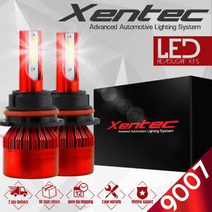 CREE 9007 HB5 192W 19200LM LED HEADLIGHT Kit HI/LO BEAM 6500K Bulbs Decoder