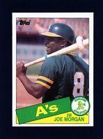 1985 Topps Joe Morgan #352  Oakland Athletics                              A428