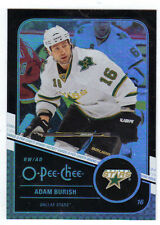 11-12 OPC O-Pee-Chee Rainbow Black Adam Burish #128 085/100 Mint Rare