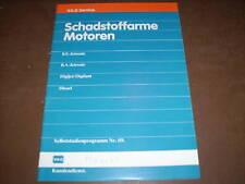 Werkstatthandbuch VW Golf II Schadstoffarme Motoren