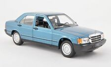 WHITEBOX 1983 Mercedes 190E W201 Blue Metallic 1:24 EURO MODEL -Rare!