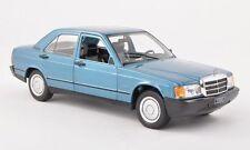 WHITEBOX 1983 Mercedes 190E W201 Blue Metallic 1:24 EURO MODEL -Rare!