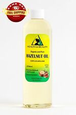 HAZELNUT OIL ORGANIC CARRIER COLD PRESSED 100% PURE 24 OZ
