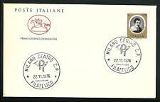 Italia 1976 : Sassoferrato - FDC Cavallino / 1° giorno di emissione