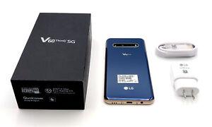 UNLOCKED LG V60 5G ThinQ 🔥 128GB Blue (AT&T Branded) [New Unused]