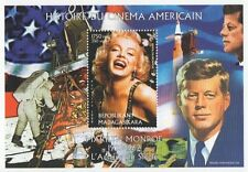 MARILYN MONROE HISTORY OF CINEMA STARS AND STRIPES JFK 1999 MNH STAMP SHEETLET