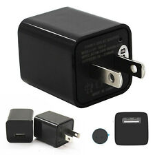 1080P USB Wall Charger AC Adapter Spy Hidden Camera Video Recorder For US Plug