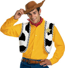 Morris Costumes Woody Hat Vest Bandana Toy Story Accessory Kit One Size. DG23433