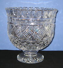 "Waterford Crystal Limited Edition 67 Of 100 ""10"" FOOTED CENTERPIECE BOWL"""