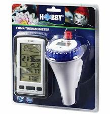 Hobby Teich-Thermometer mit Funkempfänger und Fütterungserinnerung