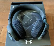 Under Armour Project Rock Edition Headphones Sport Wireless Train Camo: Open Box