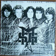 THE MICHAEL SCHENKER GROUP MSG LP UK Chrysalis With Embossed Cover CHR 1336