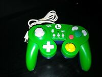 Nintendo Wii U Hori Classic Luigi Controller Green Wired Tested And Works