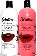 2x Cabellina Sapuyulo MAMEY Seed Oil Shampoo & Conditioner 32 Oz (960mL) Each
