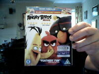 THE ANGRY BIRDS  BLU RAY  /DIGI HD / ULTRAVIOLET  PACK IDEAL GIFT! FREE UK POST