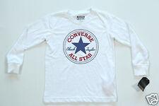 Neu All Star Converse Longsleeve Langarm T-Shirt TShirt Kids Kinder (H4)