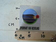 STICKER,DECAL NS INTERCITY 3 TREIN NO 8 SPOORHART VAN NEDERLAND