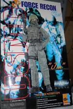 "1/6 Scale 12"" DRAGON USMC Force RECON JIM - MODERN Marine MIB"