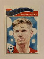 Marcos Llorente UCL Soccer UEFA Champions League Living Set Card 175