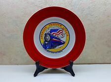 1975 American Freedom Train Foundation Collector Plate Americana Art China Co Vg