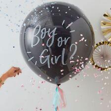 Giant Gender Reveal Balloon, Boy or Girl Baby Shower - Ginger Ray