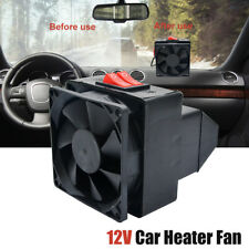 12V Car Truck Car Heater Warmer Fan Demister Defogger Fan Heater 300W Black US