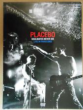 Placebo - Soulmates Never Die - Live in Paris 2003 - Original DVD - Top - Rare