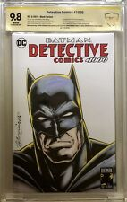 Detective Comics 1000 CBCS 9.8 Sketch by Kevin Conrad - SIGNED BY NEAL ADAMS +1