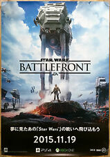 Star Wars Front rare PS4 Xbox One 51,5 cm x 73 japonais Promo Poster # 1