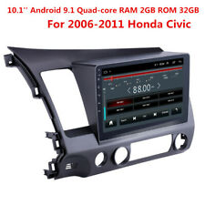 "Android 9.1 2Din 10.1"" Car Radio For 2006-2011 Honda Civic GPS Mutimedia Player"